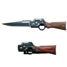 AK 47 Rifle Gun Pocket Knife