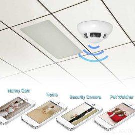 Wiseup Smoke Detector + Spy Camera