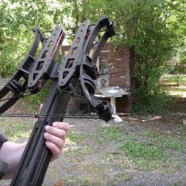 Crossbow AR-480 MK II: Shoots Steel Balls & Bolts