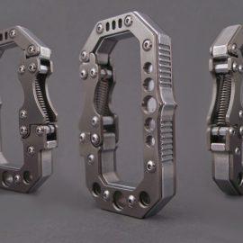 Gatekeeper: Titanium Carabiner