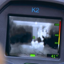 FLIR K2: Handheld Thermal Imaging Device