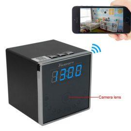 Toughsty HD Portable Hidden Camera Clock