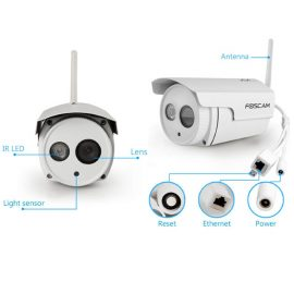 Foscam FI9803P Outdoor HD Security Camera