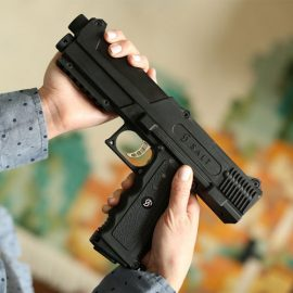 SALT Pepper Spray Gun for Self Defense