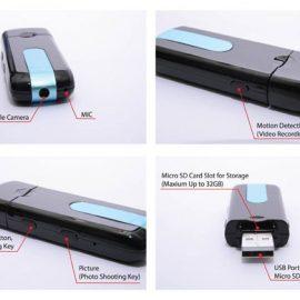 Romhn Mini USB Hidden Camera Flash Drive