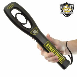 Streetwise Handheld Metal Detector: Detects Guns & Knives