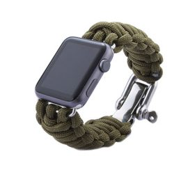 Survival Rescue Bracelet Apple Watch Band
