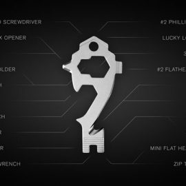 MSTR KEY 20-in-1 Multi-Tool Keytool