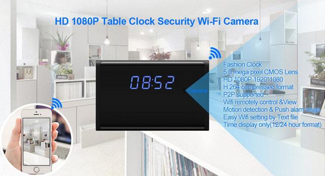 Luminously-WiFi-Hidden-Clock-Camera