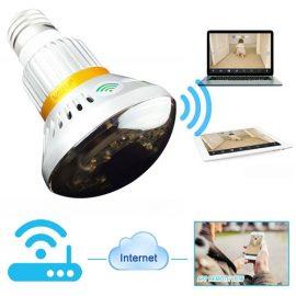 Wiseup 960p Hidden Camera Bulb
