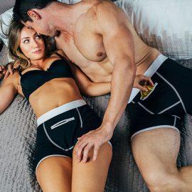 Speakeasy Briefs: Stash Underwear with Secret Front Pocket