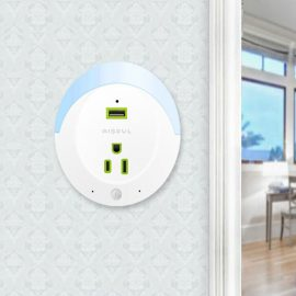 Aisoul Security Camera, Outlet, Smoke Detector