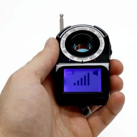 Camera Finder with RF Detector: Find Hidden Cameras