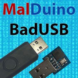 MalDuino – Open Source BadUSB Device