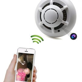 TANGMI Motion Detection Spy Camera Smoke Detector
