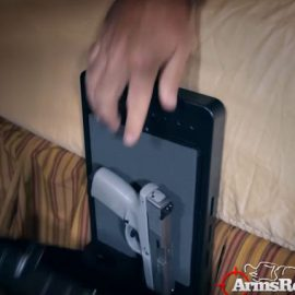 ArmsReach Biometric Bedside Safe for Gun Storage