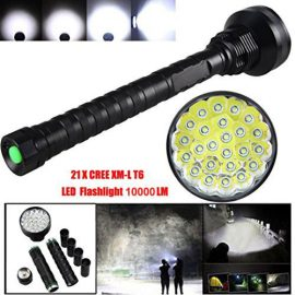 Lary intel 10000LM Flashlight