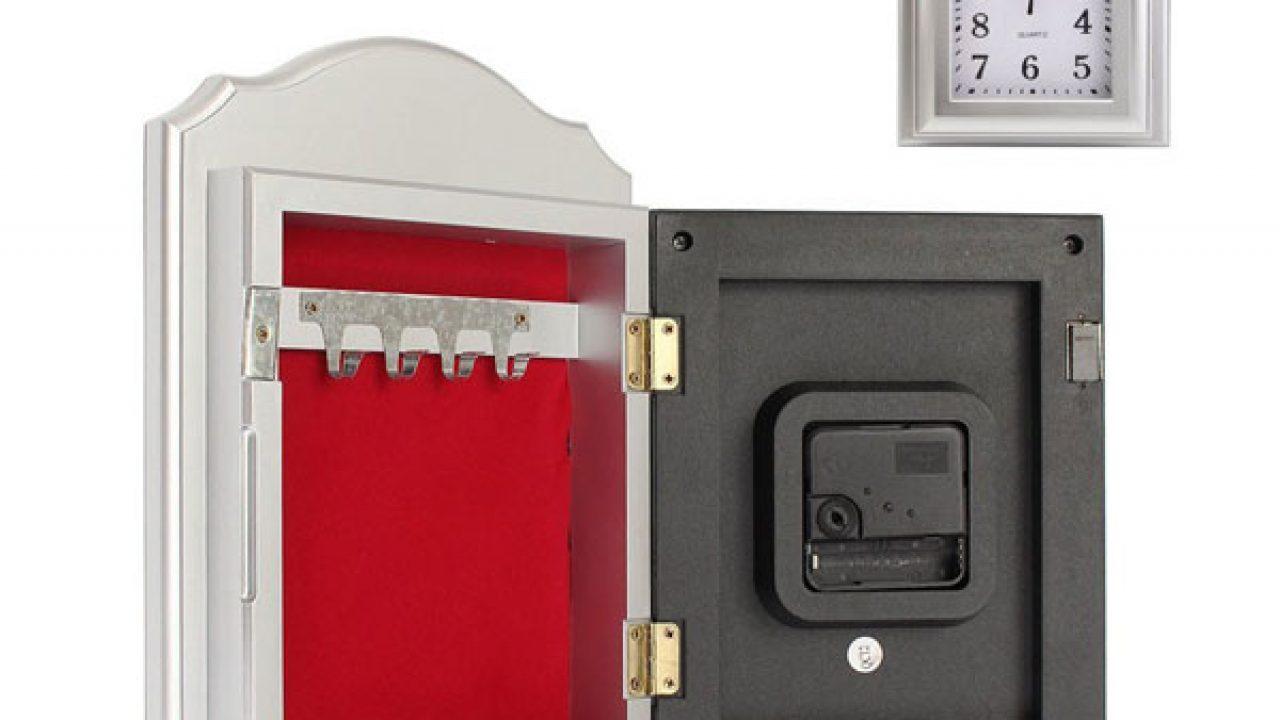 Wall Clock Secret Hidden Safe - Spy Goodies