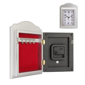 Wall Clock Secret Hidden Safe