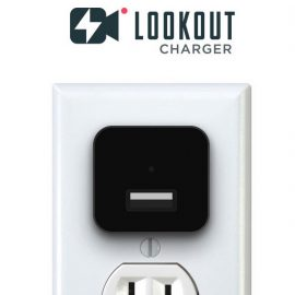 LookOut Smartphone Charger + Security Camera