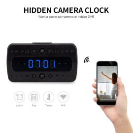 FREDI HD WiFi Hidden Camera Alarm Clock