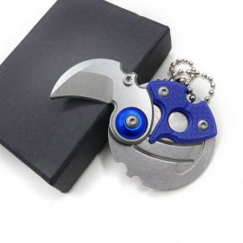 Coin Shaped Mini EDC Folding Pocket Knife