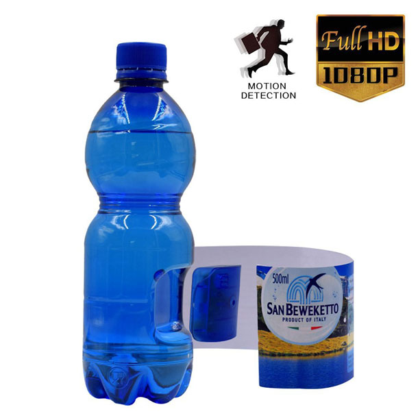 Water Bottle Hidden Spy Camera 1080p Spy Goodies