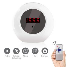 Sappywoon HD Hidden Camera Alarm Clock