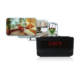 Littleadd Hidden Camera Alarm Clock