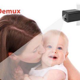 DEMUX Hidden Camera Charger