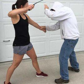 Fast Strike Non-lethal Self Defense Weapon
