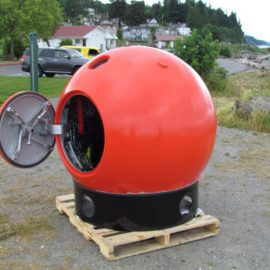 Survival Capsule Protects You Against Natural Disasters