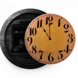 1410M Pistol Concealment Wall Clock
