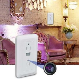 WiFi Electrical Outlet Spy Cam