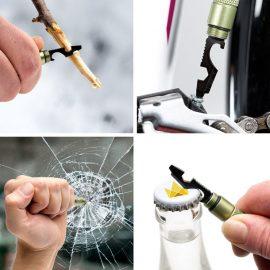 15 Glass Breaker, Seatbelt Cutter Emergency Multitools