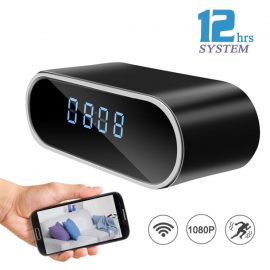 Sunsome HD 1080P Alarm Clock Camera