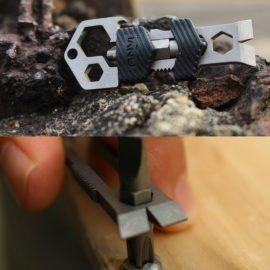 Skey Mini Titanium Keychain Multitool