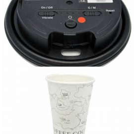 LawMate Coffee Cup Lid Spy Camera with WiFi