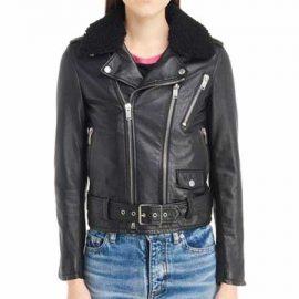 Bulletproof Saint Laurent Leather Moto Jacket
