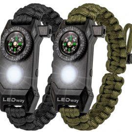 LEDway Paracord Bracelet
