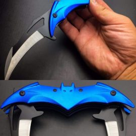 Batman Tactical Folding Dual Blade Knife