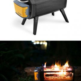 BioLite's Wood & Charcoal Burning FirePit with App Controlle Fan
