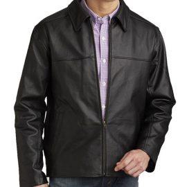 BulletBlocker NIJ IIIA Bulletproof 100% Leather Jacket