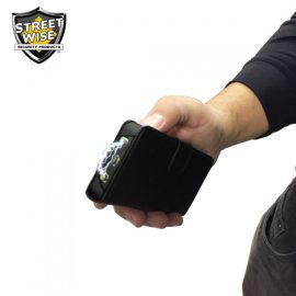 Streetwise JUSTinCASE Stun Gun + Mirror + Flashlight + Power Bank