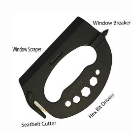 The Extractor: 5-in-1 Self Defense Tool