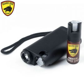 Guard Dog Olympian LED Pepper Spray Stun Gun