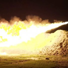 XL18 Flamethrower with over 110ft Range