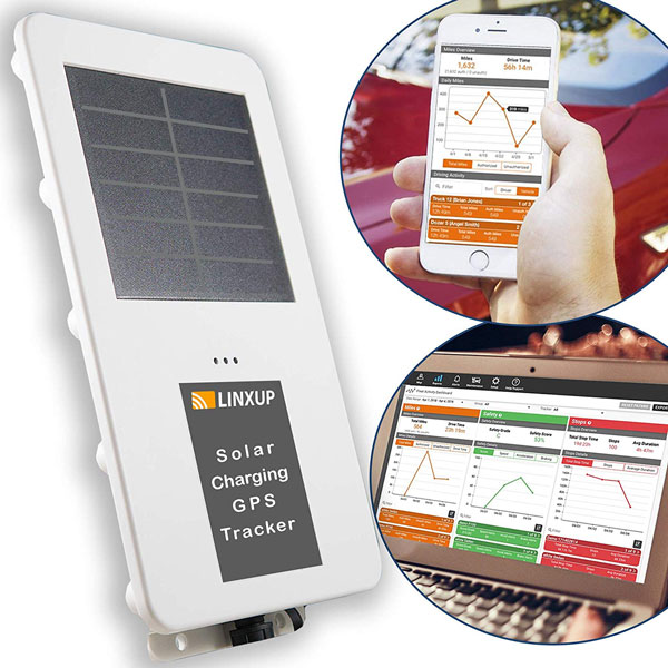 Linxup LAADS1 Solar GPS Tracker - Spy Goodies