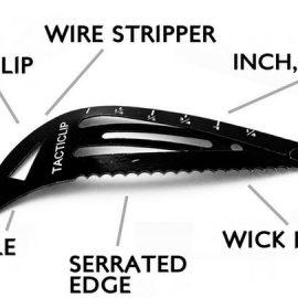 Tacticlip Hair Clip Multitool