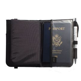 Bullet Blocker NIJ IIIA Passport Wallet